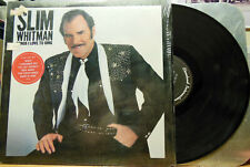 "IN SHRINK! Country LP Slim Whitman ""Songs I Love To Sing"" On Epic"