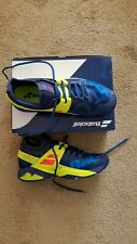 New in Box Babolat Men's Propulse Rage Tennis Shoes Blue/Optic Yellow size 9.5