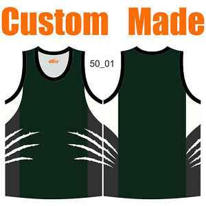 Custom Athletic Singlets Pullover Tank Tops Funny Unisex Sleeveless Tee Vests 50