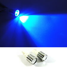 2x CREE High Power 5W LED Projector T10 168 194 Bulb Parking Backup Light BLUE