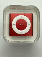 Apple iPod Shuffle 4th Generation, 2GB, Red (Newest Model) Refurbished