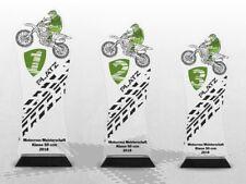 MOTOCROSS Pokale ACRYL COLOR mit DEINEM individuellen Text günstig kaufen