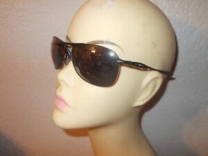 Oakley Crosshair OO4060-03 Matte Black Frame Gray Lenses Sunglasses