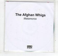 (HM563) The Afghan Whigs, Matamoros - 2014 DJ CD