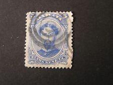 *Hawaii, Scott # 32, 6c. Value Blue 1884-86 King Kamehameha Issue Used