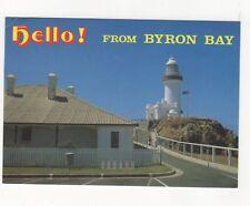 Byron Bay NSW Lighthouse & Keepers Residence Australia Postcard 912b