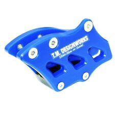 TM Designworks Chain Guide Blue YZ125 YZ250 YZ450F RM125 RM250 RMZ250 RMZ450