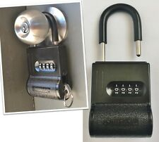 ShurLok SL-200 Key Storage Lock Box - Padlock Key Safe - Black - Brand New