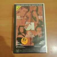 Studio 54 Large Case Ex Rental Roadshow Vhs Miramax Video