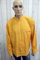 CARRERA Camicia Uomo Taglia L Cotone Chemise Italia Shirt Casual Manica Lunga