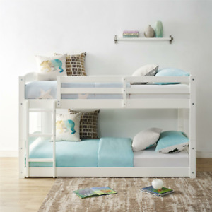 Bellmead Standard Bunk Bed - Twin over Twin (3 Colors)