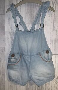 Girls Age 3-6 Months - Next Shorts Dungarees