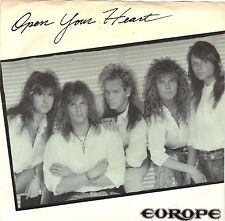 EUROPE  (Open Your Heart)  Epic 34-08102 + Picture sleeve