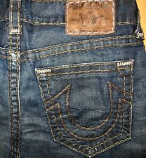 Original TRUE RELIGION Jeans BOBBY SUPER T STRAIGHT-CUT W 36/32 logan geno ricky
