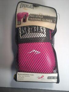 Everlast Pro Style Training Gloves 12 Ounces Women Pink