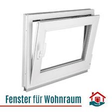 Kellerfenster Fenster Kunststoff - 2 fach Verglasung - Dreh Kipp Weiß Premium