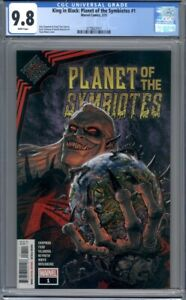 King in Black: Planet of the Symbiotes #1 Tony Moore Cover Knull Venom CGC 9.8