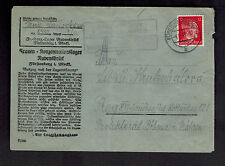 1943 Germany Ravensbruck Concentration Camp Cover KZ Marie Laslovkova Prague BM