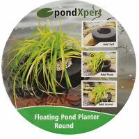 PondXpert Floating Pond Planter Round Plant Island Basket Aquatic Lily 35 x 35cm