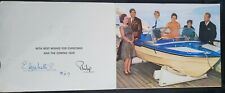 More details for hm queen elizabeth ii prince philip signed royal xmas card from 1969 royal photo