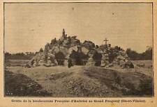 35 GRAND-FOUGERAY GROTTE DE FRANCOISE D' AMBOISE ILLUSTRATION 1912