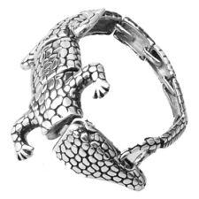 Crocodile Bracelet Bracelet Christmas Gift Punk Men 316L Stainless Steel Silver