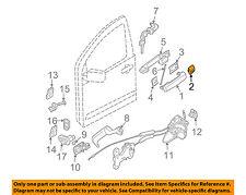 NISSAN OEM Front Door-Handle, Outside Escutcheon Left 80647ZC00A, CHROME
