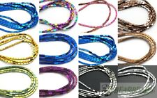 "Natural Hematite Gemstone Rectangular Bar Beads Metallic Silver Gold 2x4mm 16"""