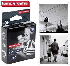 3 Rolls x Lomography LOMO Earl Grey 100 ISO Black and White B&W 120 Film
