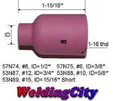 5-pk TIG Welding Large Gas Lens Ceramic Cup 57N74 #8   US Seller Fast Ship