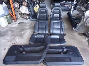 AUDI TT QUATTRO 1.8 PETROL 2002 INTERIOR LEATHER SEATS