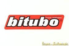 "VESPA Dekor Aufkleber ""Bitubo"" - V50 PK PX PV ET3 Rally GL GS TS GT GTR Sprint"