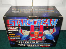 Starscream Artist Proof AP/5000 Signed Hard Hero Bust Transformers Limited