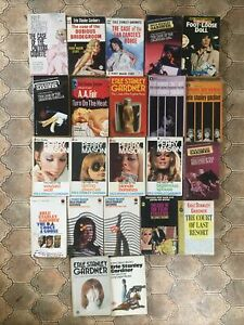 22 x Vintage Perry Mason Mysteries by Erle Stanley Gardner PB Job Lot 1960s