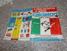 ALBUM CALCIATORI PANINI 1965-66 1966 COMPLETO(-63 FIG-16 SCUDETTI) BUONO/OTTIMO