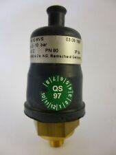 Honsberg Mechanischer Druckschalter Druckwächter PM 10 MVS PM-010 M004H PN 80