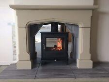 limestone fireplace surround bolection stone fireplace surround chatsworth new high quality wood burner stove gas fire buy limestone fireplace mantelpieces surrounds ebay