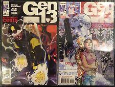 Gen 13 #0 Cover Set of 2 VF+/NM- 1st Print Free UK P&P Wildstorm Comics