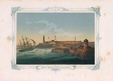 1855 Morro y Entrada Puerto de la Habana Morro Entrance Port Havana Cuba 3