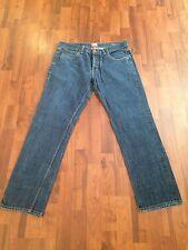 Men's OBEY Propaganda Button Fly REG Straight Leg Denim Jeans Size 34