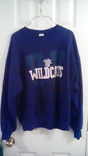 Jerzees Super Sweats Kentucky Wildcats Sweatshirt Men's Size Large Blue White