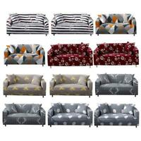 Cover Sofa Stretch Protector Couch Anti-Skid Elastic Slipcover For 3 Seater Home