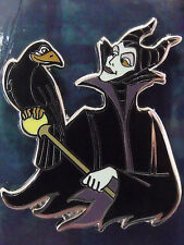2013 Disney Villains Sidekicks Maleficent & Bird Diablo Booster Trading Pin DR