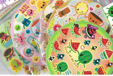 Approx 90 scratch & sniff stickers -5 assorted scents -Cupcake , Watermelon ,etc