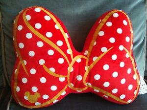 Primark Disney Minnie Mouse Red Bow Cushion