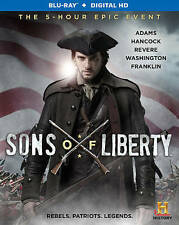 Sons of Liberty (Blu-ray Disc, 2015) like new includes digital/dvd/bluray