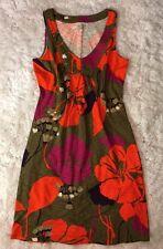 NWOT Boden Women's Dress Size UK 10L US6L run Small US 4