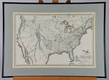 United States of America 1820 B. Warner Framed Vintage Reproduction Atlas Map
