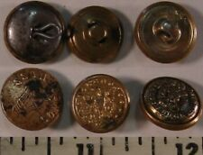 3 1940's~Brass Buttons~Comes Boss RR~Eagle