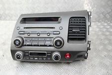 HONDA CIVIC MK8 06-11 SEDAN IMA RADIO CD PLAYER HEAD UNIT PANEL 39100SNAE610M1